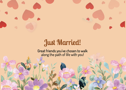 wedding card 234 flyer brochure