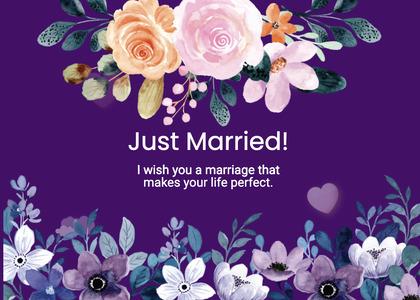 wedding card 251 plant flower