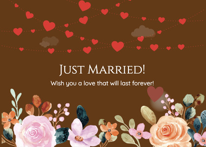 wedding card 255 graphics art