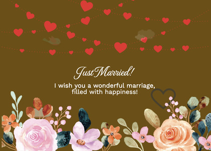 wedding card 258 envelope mail