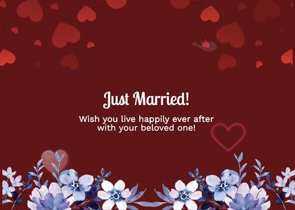 wedding card 260 envelope mail