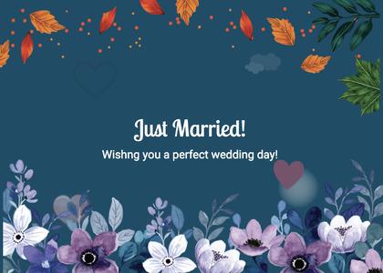 wedding card 262 graphics fish