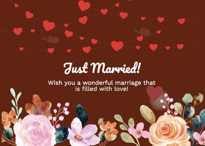 wedding card 269 flyer advertisement