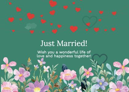 wedding card 285 graphics art