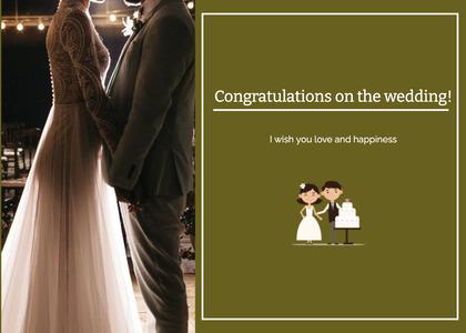 wedding card 35 clothing person