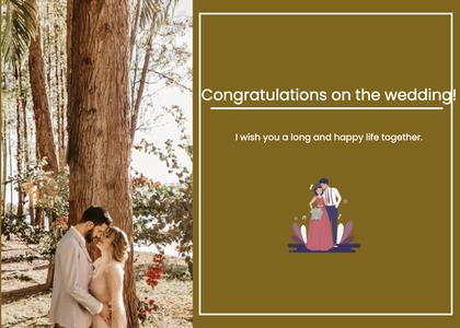 wedding card 39 clothing apparel