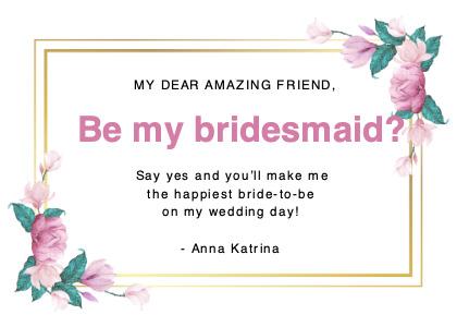 wedding card 4 text floraldesign
