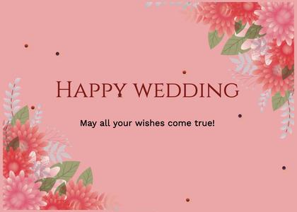 wedding card 50 floraldesign graphics