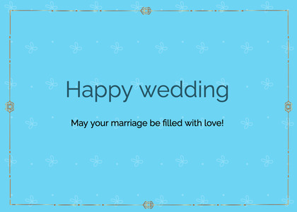 wedding card 55 text page