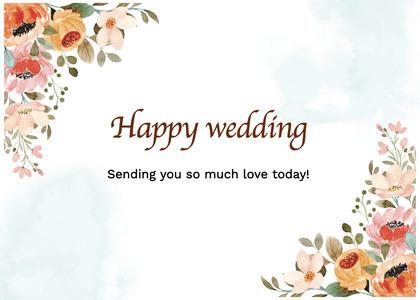 wedding card 58 floraldesign graphics