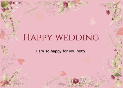 wedding card 61 floraldesign graphics