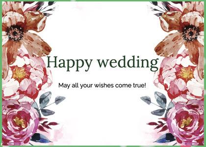 wedding card 68 graphics art