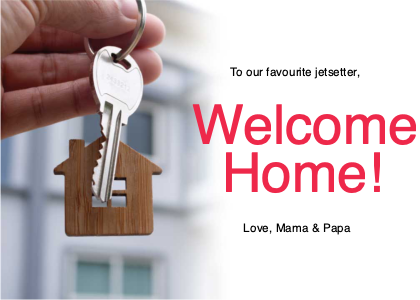welcome card 11 key person