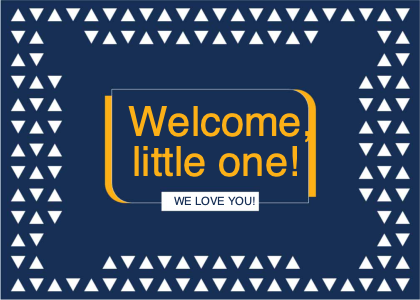 welcome card 15 advertisement poster