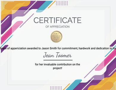 certificate 102 text diploma