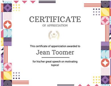 certificate 109 text diploma