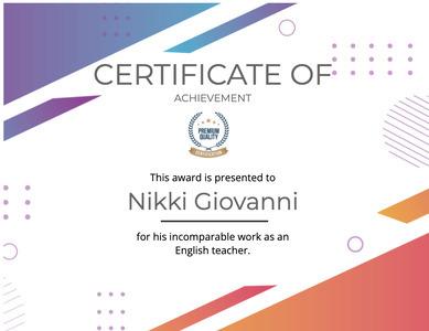 certificate 119 text diploma