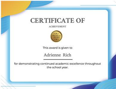 certificate 121 text diploma