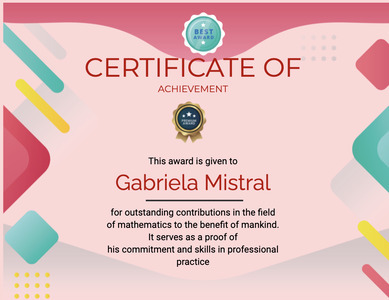 certificate 123 text advertisement