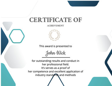 certificate 127 text document