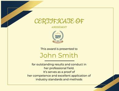 certificate 129 text diploma