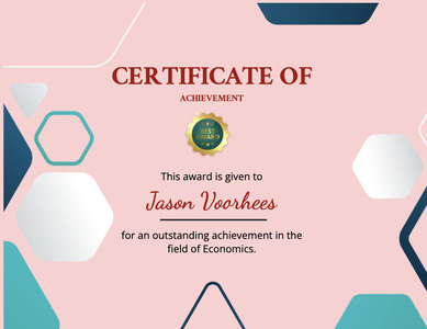 certificate 136 text document