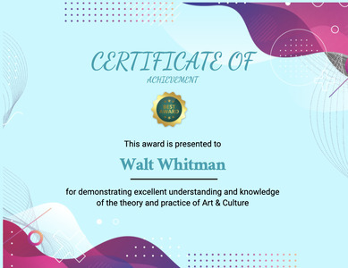 certificate 139 text poster