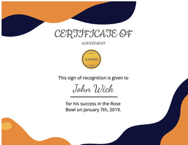 certificate 145 text document