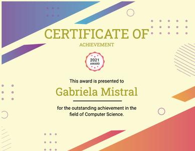 certificate 148 text advertisement