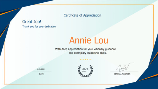 certificate 22 printable  certificates of appreciation