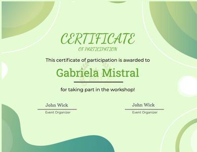 certificate 31 text advertisement