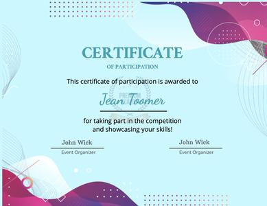 certificate 49 poster advertisement
