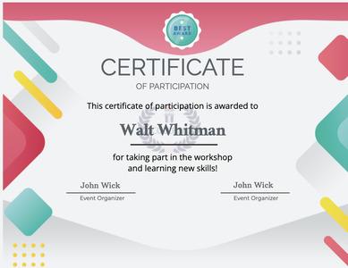 certificate 56 text diploma