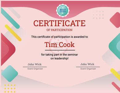 certificate 63 text diploma