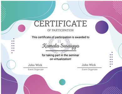 certificate 65 text diploma