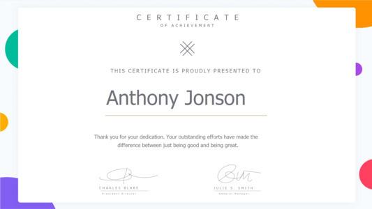 certificate 7  certificate of accomplishment template free