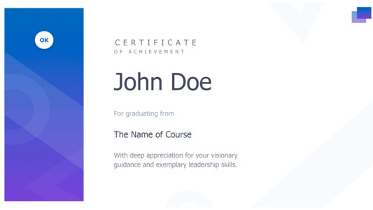 certificate 8 online free achievement  certificate