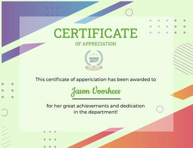 certificate 92 text diploma