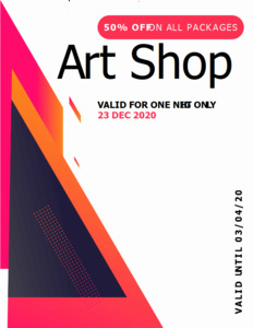 abstract coupon 2 abstract  coupon template free