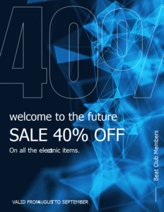 abstract coupon 5 online sale abstract  coupon design