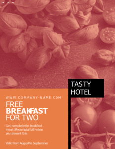 business coupon 4 hotel offers  coupon templates