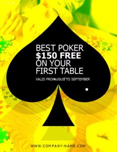 club coupon 4 poker club promo  coupon template