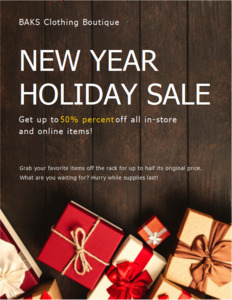 holiday coupon 4 holiday  coupon template free