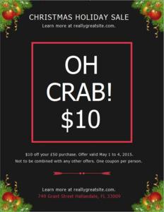 holiday coupon 5 christmas holiday  coupon design