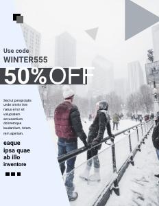 winterfashion coupon 3 person nature