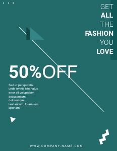 winterfashion coupon 4 poster advertisement
