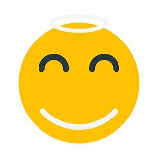 emoticon 1 halo  emoticon maker