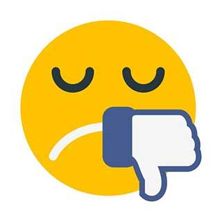 emoticon 11 sad face thumbs down  emoticon maker