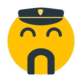 emoticon 12 police officer  emoticon maker