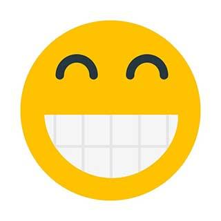 emoticon 15 grimacing face  emoticon maker